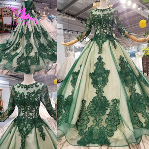 Image 5 - AIJINGYU שמלות ללבוש לחתונה בציר שנהב שמלה משתלמת כלה קוריאה מדהים שמלות ספרדית חתונה שמלה