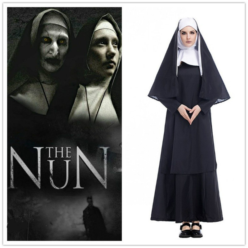 The Nun The Conjuring 2 Cosplay Costume Christianity Virgin Mary