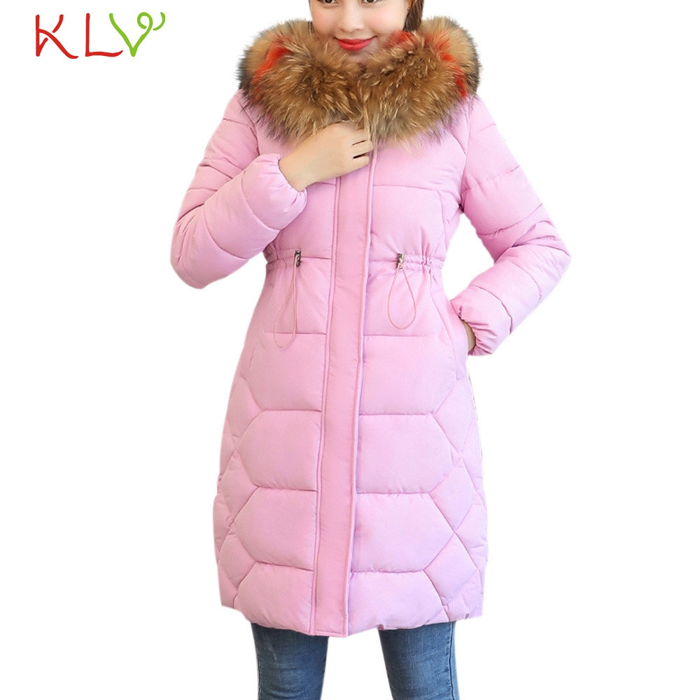Women Jacket Winter Thick Fur Cotton Parka Parka Warm Long 2018 Plus Size Ladies Chamarra Cazadora Mujer Coat For Girls 18Oct24 1