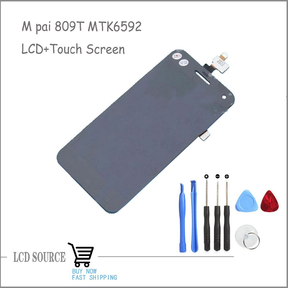 NEW Original For M Pai 809T MTK6592 LCD Display Screen Touch Screen Digitizer Sensors Replacement Parts With DIY Tools