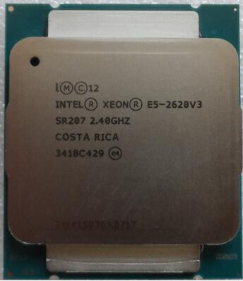 E5 2620V3 XEON E5-2620V3 6-CORE 2.40GHZ 15MB L3 CACHE 8GT/S SOCKET-FCLGA2011-3 85W 22NM Processor 1 year warranty Delivery 1day