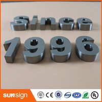 100 Manufacturer Competitive Price 3D Stainless Steel Letter Sign