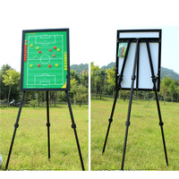 MAICCA Soccer Coaching Board with holder Magnetic Football Coach Tactical plate tripod super big book se Wholesale