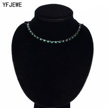 Trendy Crystal Statement Necklaces Pendants Women Fine Jewelry Multi layer Link Chain Necklace Bijoux Colares