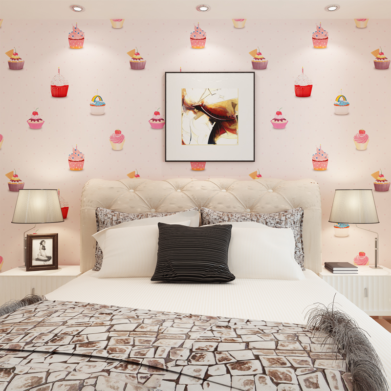 Online buy wholesale pretty wallpaper from china pretty for Pretty bedroom wallpaper