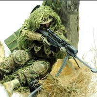 12 Inch Model Toy Gift Soldier Model Sniper Barrett Police Toy For Children Special Forces Military Model