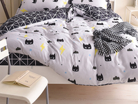 Capa de edredon para crianças  1 peça de capa de edredon para crianças  140x200  cama  colcha  cobertor  único  casal  queen  king personalizado 200*200cm