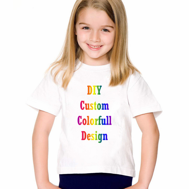 LYTLM Kids Girl Clothes 2018 Custom Tshirt Printing LOGO Karajuku Top Tee Shirt Fille Baby Boy Tops Children T Shirts Fille 2018