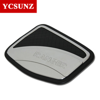 ABS Chrome Chromium Styling Car Tank Cover Sticker Fuel Tank Cap For FordRanger Accessories 2015 Hit