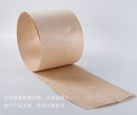 Length 2 5Meters Pcs Thickness 0 5mm Width 18cm Natural Birch Wood Veneer Furniture Cabinet Sticker