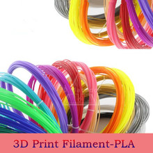 High Quality 1.75mm PLA Filament For 3D Printing Pen Smooth 3d Printing Materials For 3 D Printer Not Plug Color Free Shipping