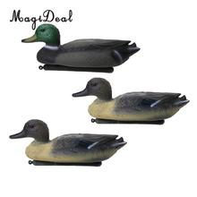 3 Pieces Floating Duck Decoy Drake Hunting Bait Lawn Ornaments Garden  Decors(China)