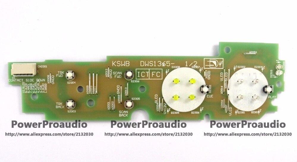 P ioneer CDJ1000MK3 Play Cue Track Select repalce PCB DWS1365 DWS 1365