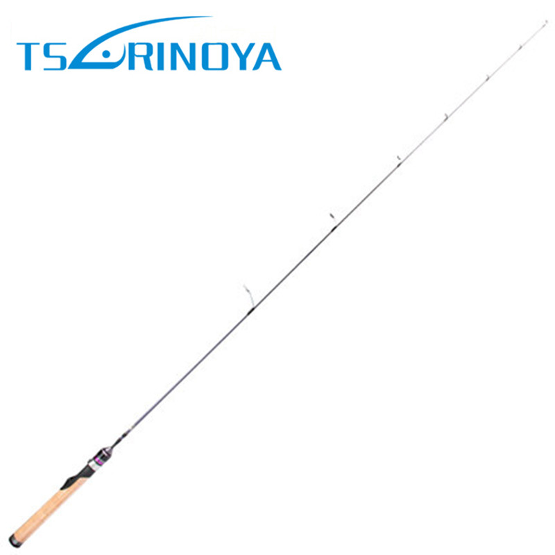 Tsurinoya 1.4m UL Power Solid Tip Spinning Fishing Rod TORAY-24T Carbon FUJI Ring Lure Rods Fishing Pole Soft Cork Handle