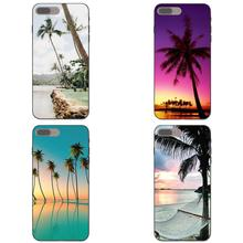 2019 Tropical Island Palm Tree Beach For Samsung Galaxy C5