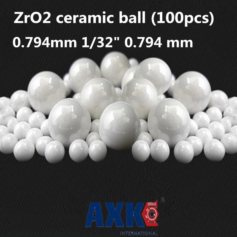 Rodamientos Free Shipping 100pcs 0.794mm 1/32 0.794 Mm Zro2 Ceramic Balls Zirconia Used In Bearing/pump/linear Slider/valvs G5 17 46250 mm 22 32 si3n4 ceramic balls silicon nitride balls used in bearing pump linear slider valvs balls