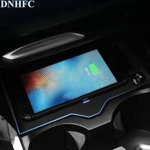 DNHFC мобильный телефон беспроводной зарядки Pad Модуль автомобильные аксессуары для BMW X3 G01 2018 20i 30i 20d 30d автомобиль украшения