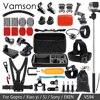 Vamson For Gopro Accessories Set Tripod Monopod For Gopro Hero 5 4 3 Black Edition Set