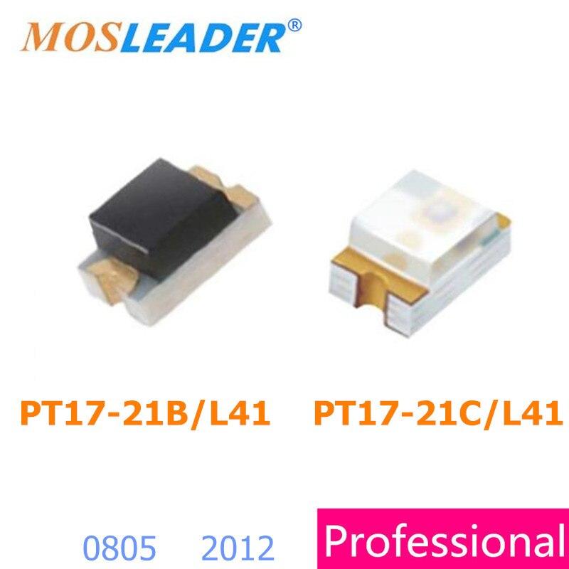 Mosleader PT17 21B L41 TR8 PT17 21C L41 TR8 0805 500PCS 3000PCS 2012 PT17 21B L41