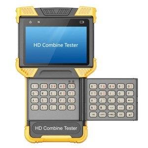 Image 2 - DT T70 h.264/h.265/4k ip analógico câmera tester 4.0 polegada hd combine tester cctv tester monitor apoio onvif tdr rj45 cabo teste