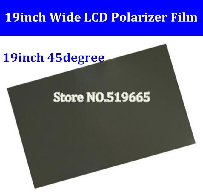 China Wholesale 19inch 45 Degree W LCD LED polarizer/polarized/polarizing film for PC monitor screen new built in vacuum oca film laminating machine polarizer for lcd film oca laminator 110v or 220v