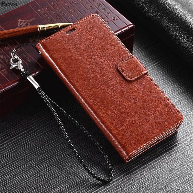 MEİZU M2 NOTE M571 Pu dəri qutusu üçün ultra nazik cüzdan flip - Cib telefonu aksesuarları və hissələri - Fotoqrafiya 2
