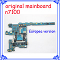 N7100 Original motherboard Europea version mainboard system board for samsung Galaxy note 2 N7100 unlocked logic board Android