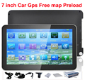 7 inch car gps navigator system car stlying navigation wince 6.0 touch screen free map preload hottest selling