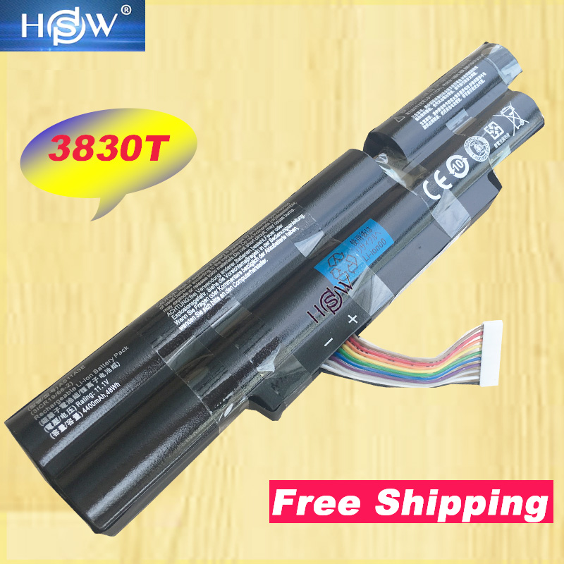 HSW New 6Cells Laptop Battery For <font><b>Acer</b></font> Aspire TimelineX <font><b>4830TG</b></font> 5830T 3830TG 4830T 5830TG 3830T 3INR18/65-2 AS11A3E AS11A5E image