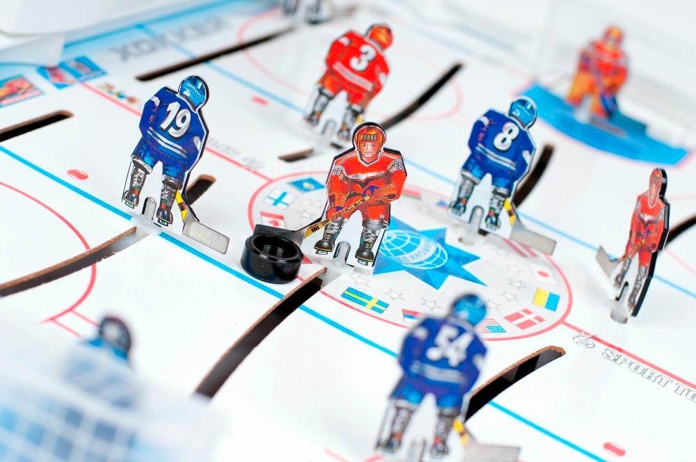 Tableau glace mini hockey jouet jeu bureau jeu interactif pour deux bataille eau Kit jeu boîte jeu jeu de société - 3