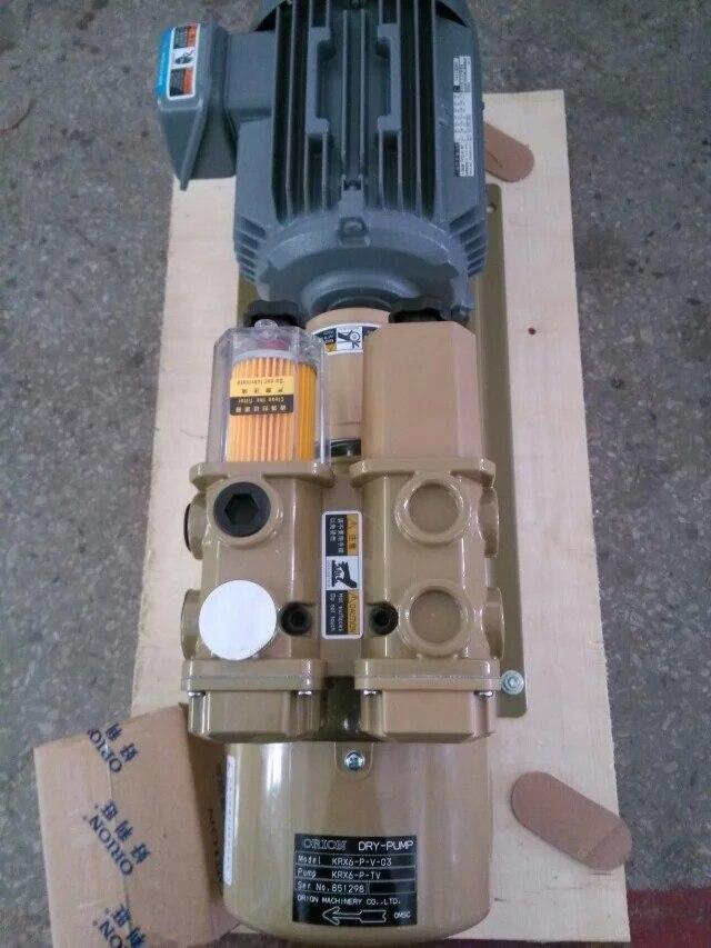 Japan oil-free vacuum pump KRX6-P-V-03  oil-free rotary vane vacuum pump