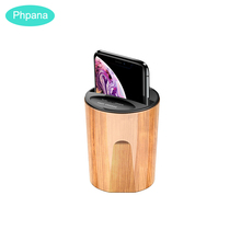 10W QI Wireless Charger Fast Car Cup USB Charging Phone Holder Mount in for iPhone xr Huawei Samsung Smart