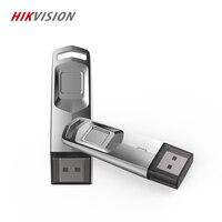 HIKVISION 2019 USB flash drive Pendrive Fingerprint Encrypted U disk USB 3.0 stick 32GB 64GB For Laptop Desktop business