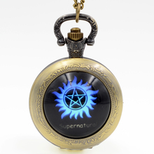 Supernatural Analog Pocket Watch