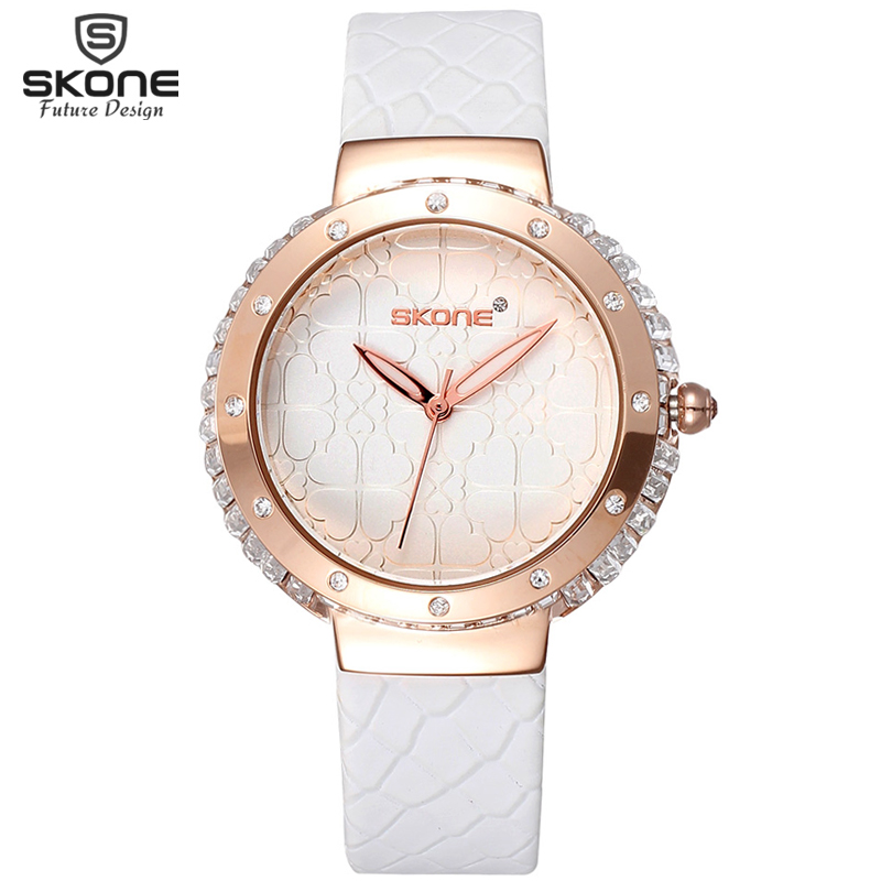 цены Big Crystal Diamond Fashion Watches Rose Gold Dial Luxury Brand Leather Strap Casual Quartz Watch Women Relogio orologio donna