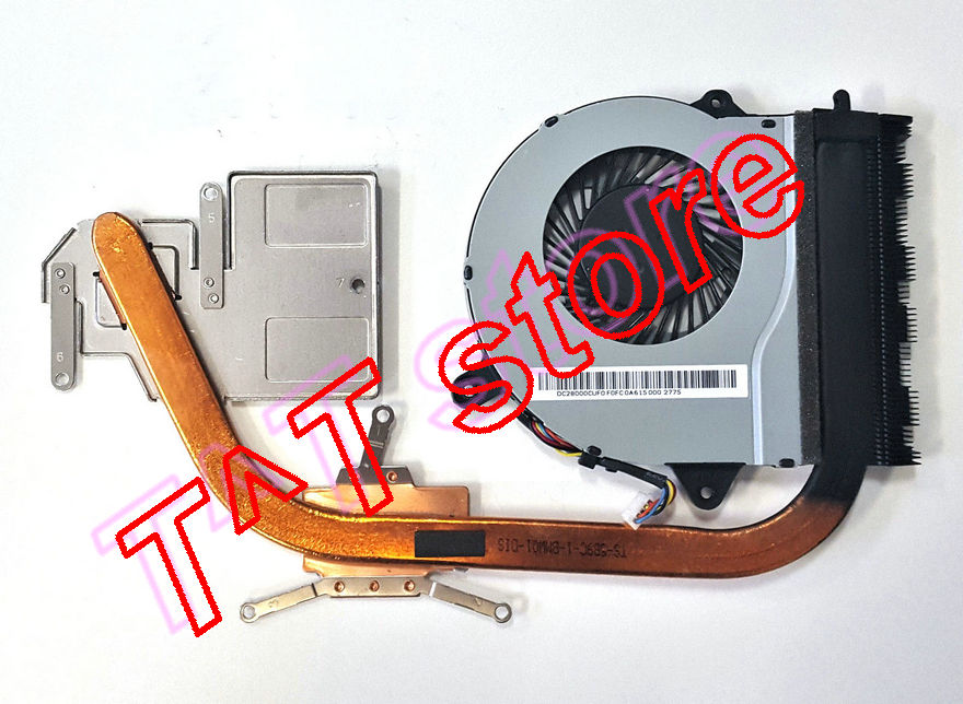 original for Ideapad 300-15ISK CPU GPU Heatsink w cooler Fan AT0YJ0010S0 test good free shipping