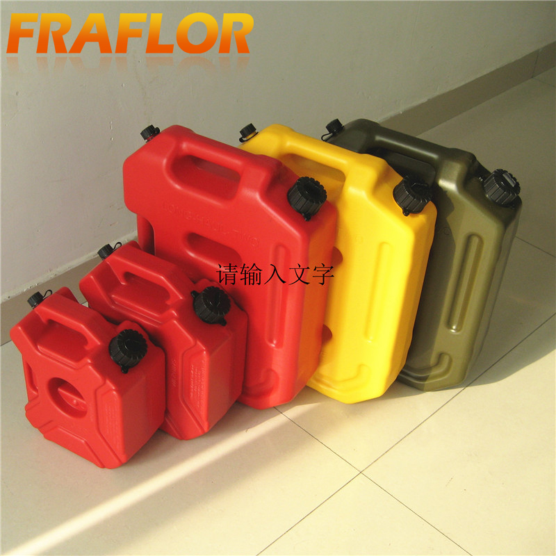 Plastic Gas Cans >> Us 34 99 30 Off 5 Litre Fuel Tank Jerry Cans Spare Plastic Petrol Tanks Atv Jerrycan Mount Motorcycle Gas Can Gasoline Oil Container Fuel Jugs In
