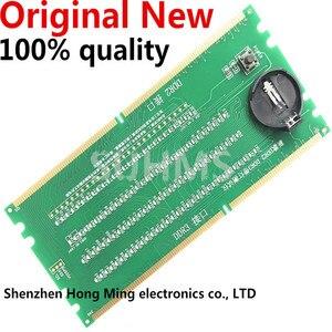 Image 1 - 100% Yeni orijinal Masaüstü DDR2 DDR3 ram bellek Yuvası Test Cihazı LED DDR2 DDR3 Yuvası Test Masaüstü Anakart