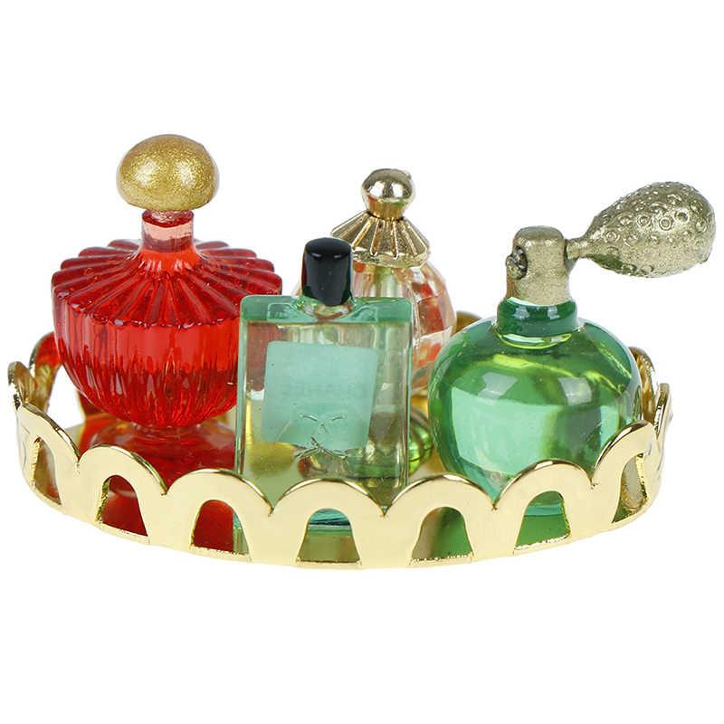 1/12 échelle parfum plateau Miniature meubles modèle Mini maison de poupée meubles poupée chambre bain poupées maison