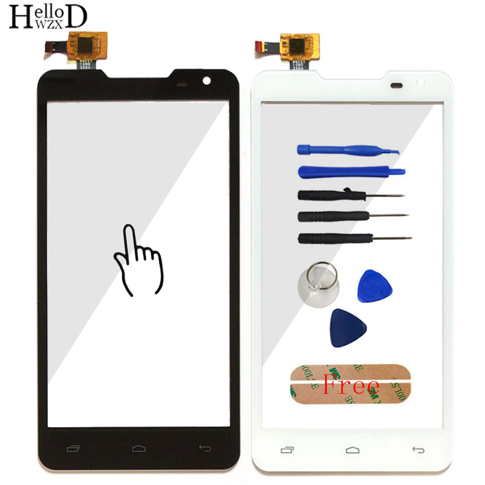 5.0 Smartphone Touch Glass For Prestigio MultiPhone Duo PAP 5044 PAP5044 Front Screen Digitizer Panel Lens Sensor Tools Adhesive