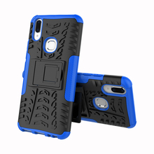For Vivo V9 Case Hard TPU+PC Armor with Stand Silicone Hybrid Protective back Cover cases vivo y85 v9 full cover shell