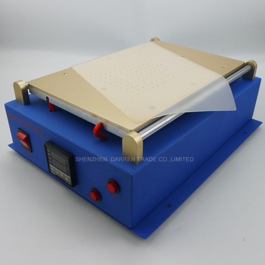 1 Uds. Bomba de vacío doble integrada de 14 pulgadas para i pad para teléfono cristal LCD separador pantalla dividida máquina de reparación para Tablet PC - 2
