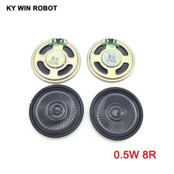 5pcs/lot New Ultra-thin speaker 8 ohms 0.5 watt 0.5W 8R speaker Diameter 40MM 4CM thickness 5MM 5pcs lot new ultra thin speaker 8 ohms 0 5 watt 0 5w 8r speaker diameter 40mm 4cm thickness 5mm