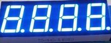 БЕСПЛАТНАЯ ДОСТАВКА 10 ШТ. x 0.56 дюйм(ов) Синий Общий Катод 4 Цифровой Пробки 5461AB СВЕТОДИОДНЫЙ Дисплей Модуль