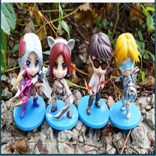 4pcs/set With box new action figure 8.5cm pvc figure model toys for collection gift deluxe anime brinquedos hot sale juguetes