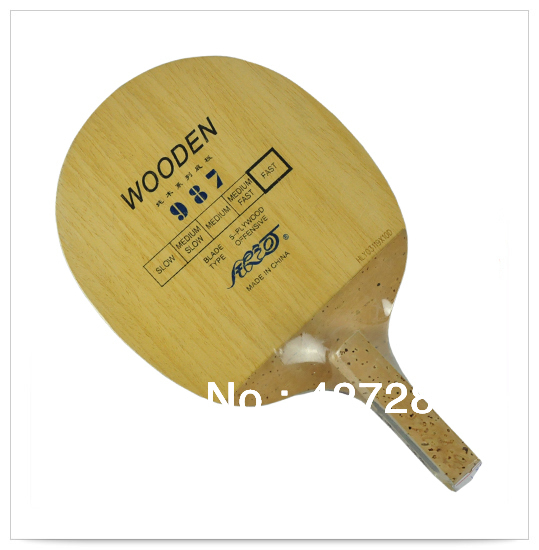 Originale Milkey way Yinhe 987 table tennis blade Penna giapponese attacco veloce con loop ping pong racchette sport da competizione