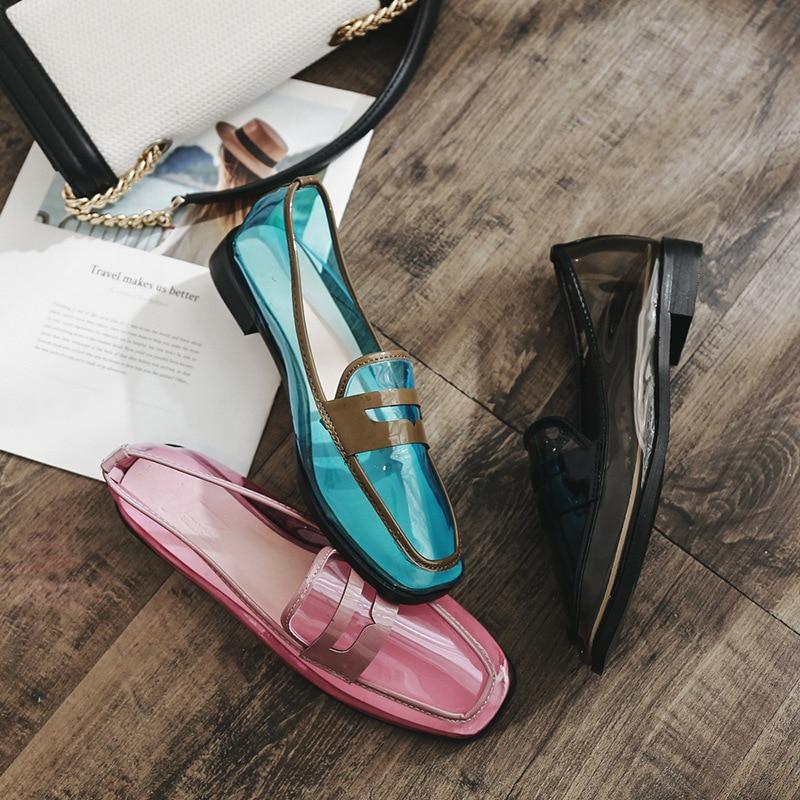 Mocassins Swyivy pour Chaussures 2018 femmes Summer plats Sexy Imperméable qZrx5tvqw