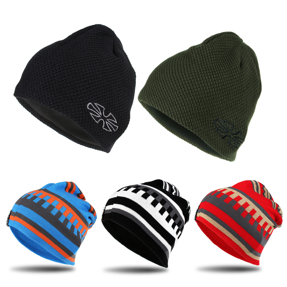 Unisex New Brand Skiing Snowboard Caps Warm Winter Knitting Hats For Men And Women Skullies And Beanies Hiking Caps