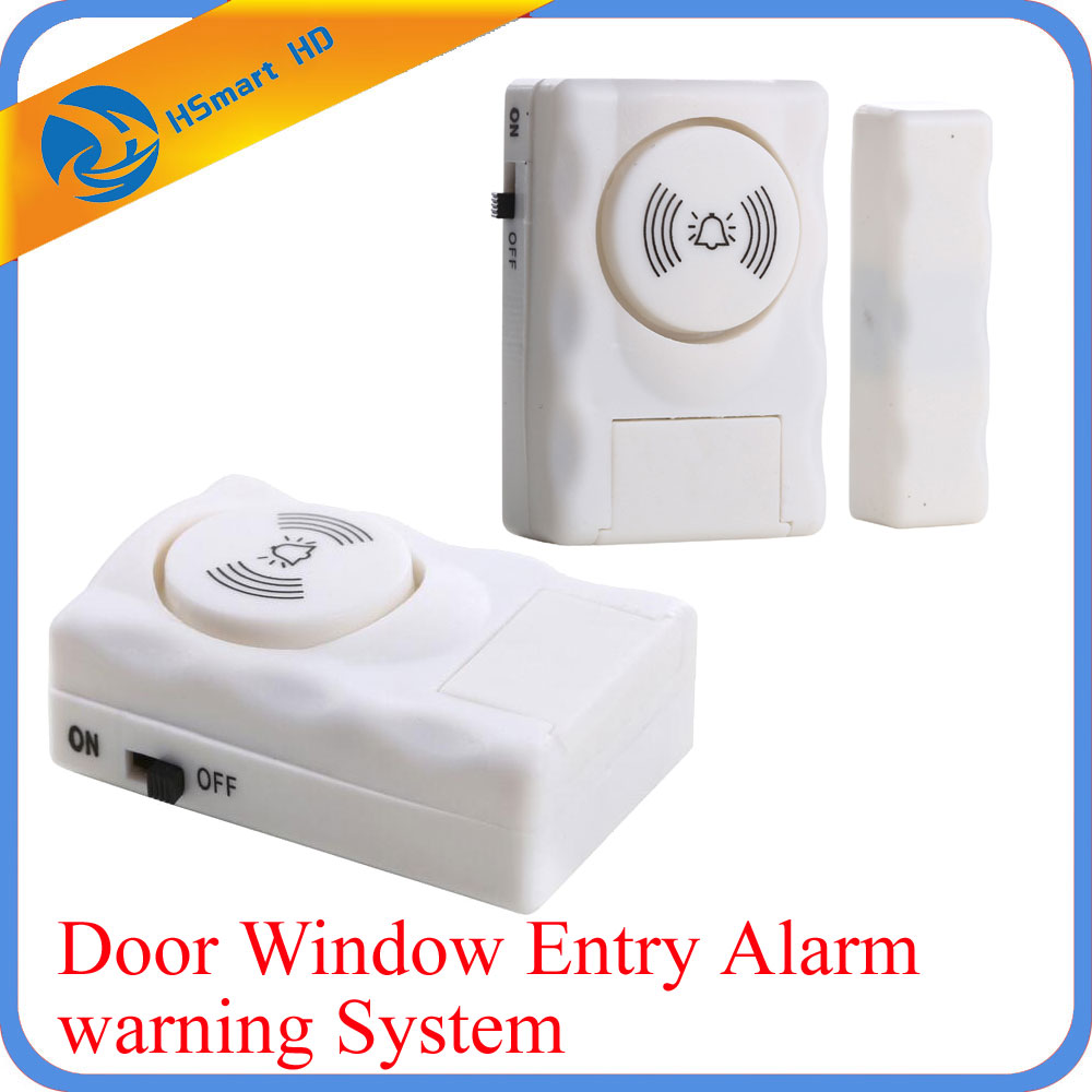 Wireless Home Security Door Window Entry Alarm warning System Magnetic Sensor 105db leshp magnetic sensor wireless alarm system door window motion burglar entry security home guarding 105db with led indicator