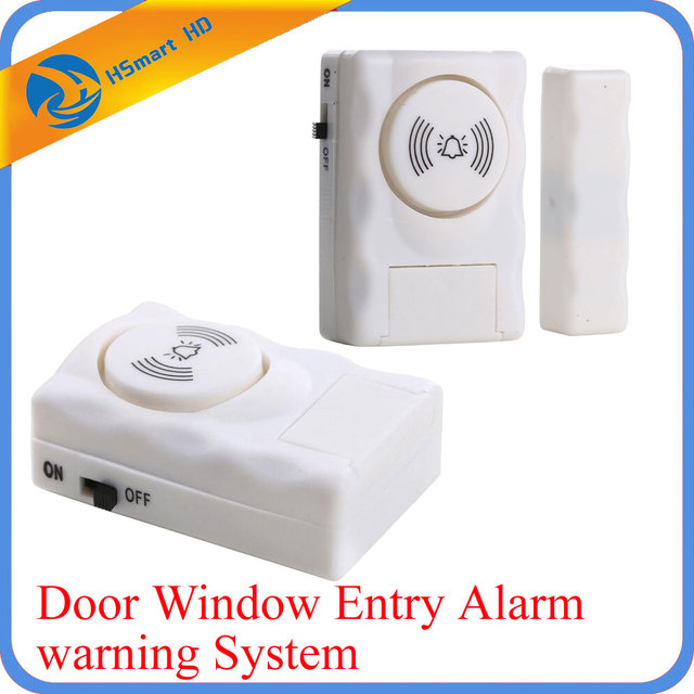 Wireless Home Security Door Window Entry Alarm Warning System